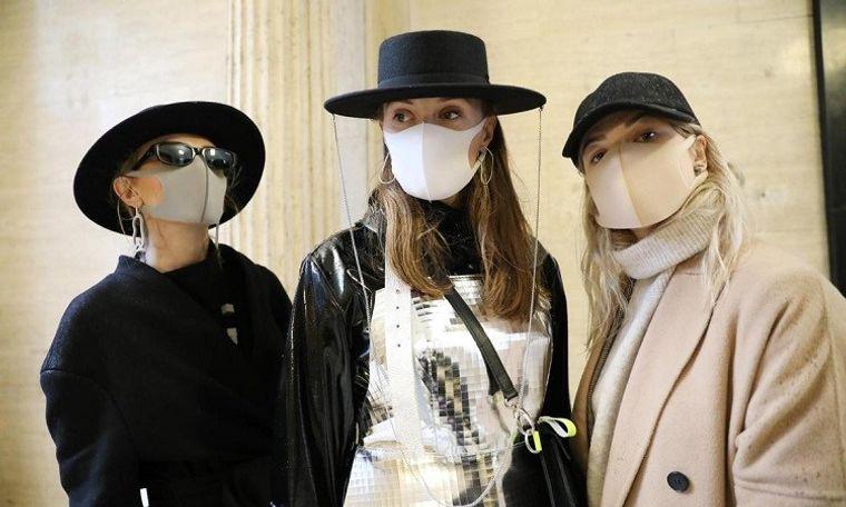 máscaras faciales moda