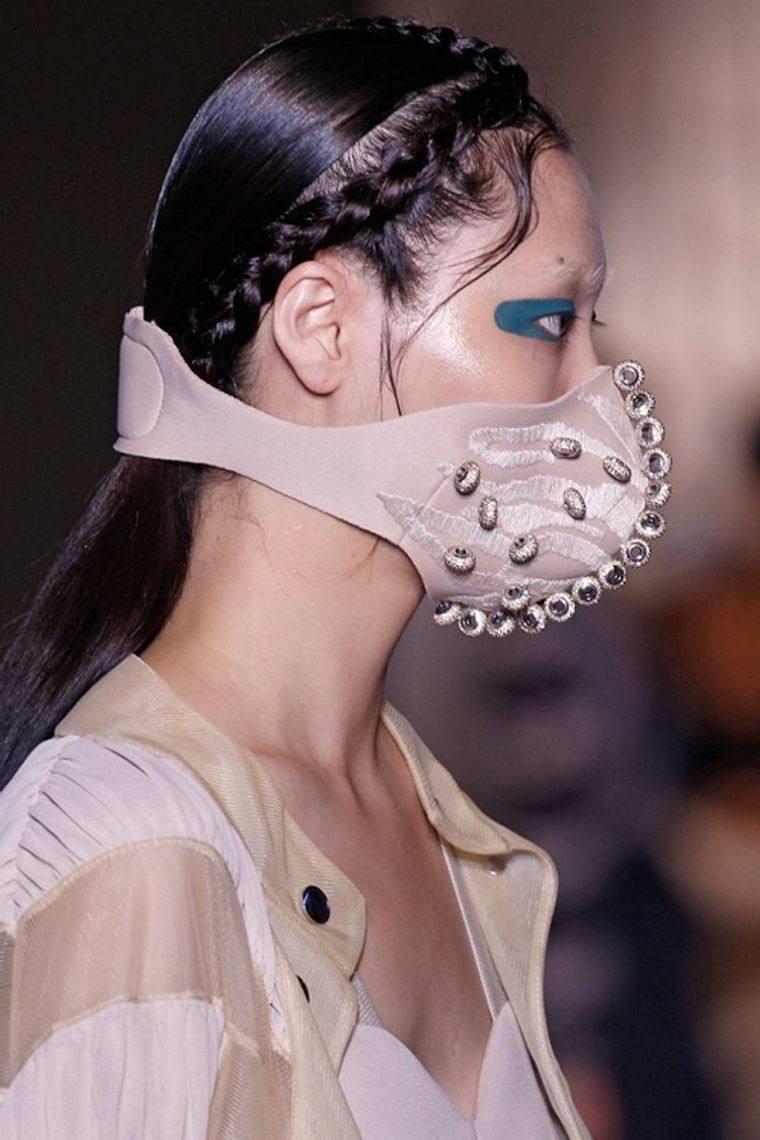 máscaras solo moda