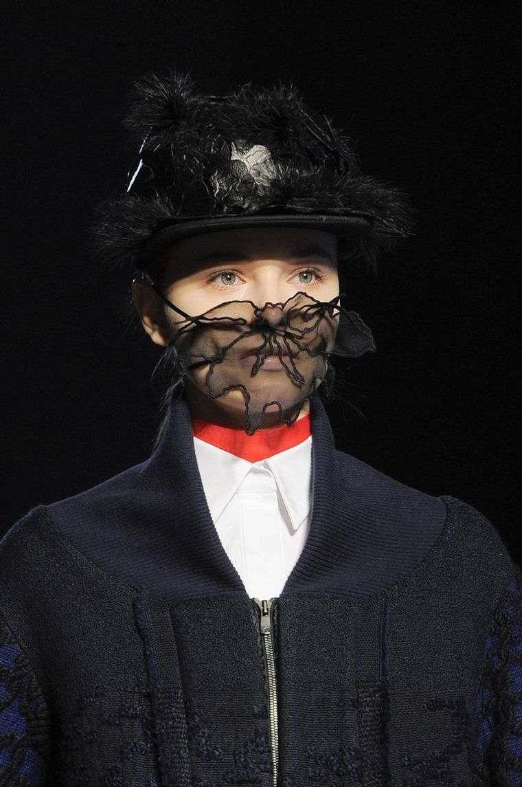 máscaras transparentes