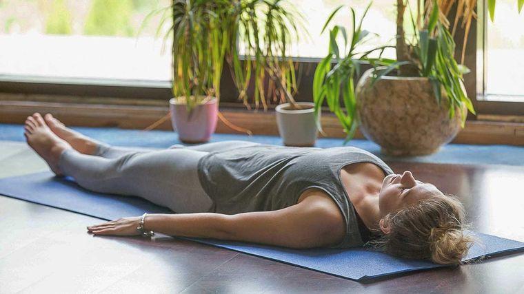 meditación descanso