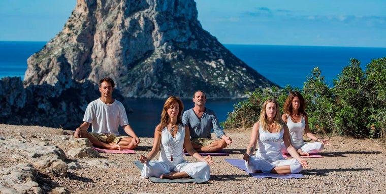meditación grupo