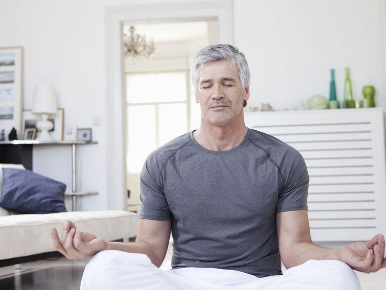meditación hombre