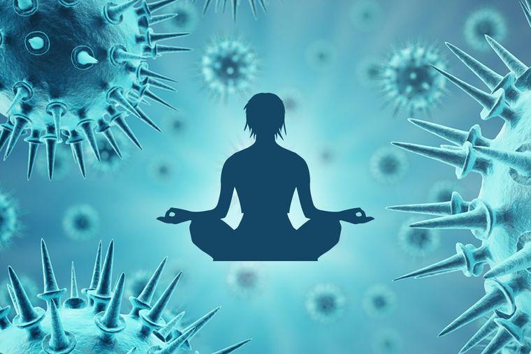meditación inmunidad