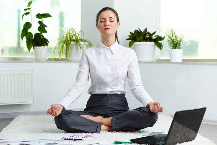 meditación trabajo
