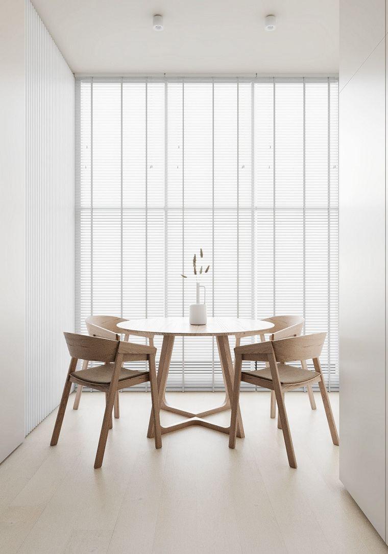 muebles-madera-comedor-blanco