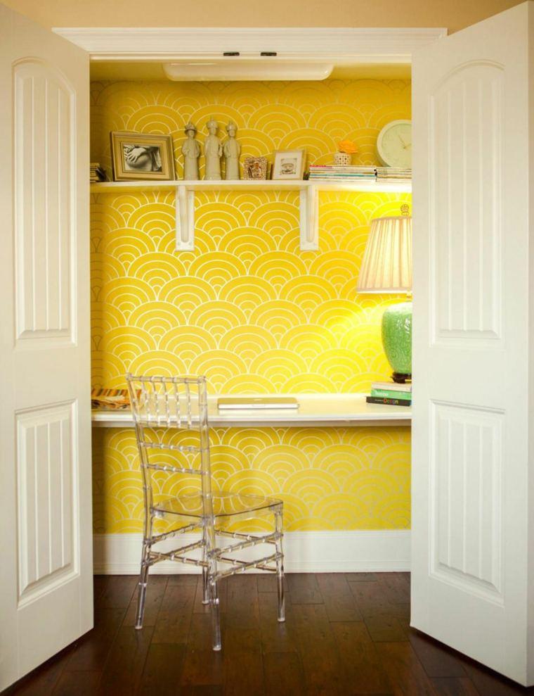 oficina-diseno-casa-ideas-color-amarillo