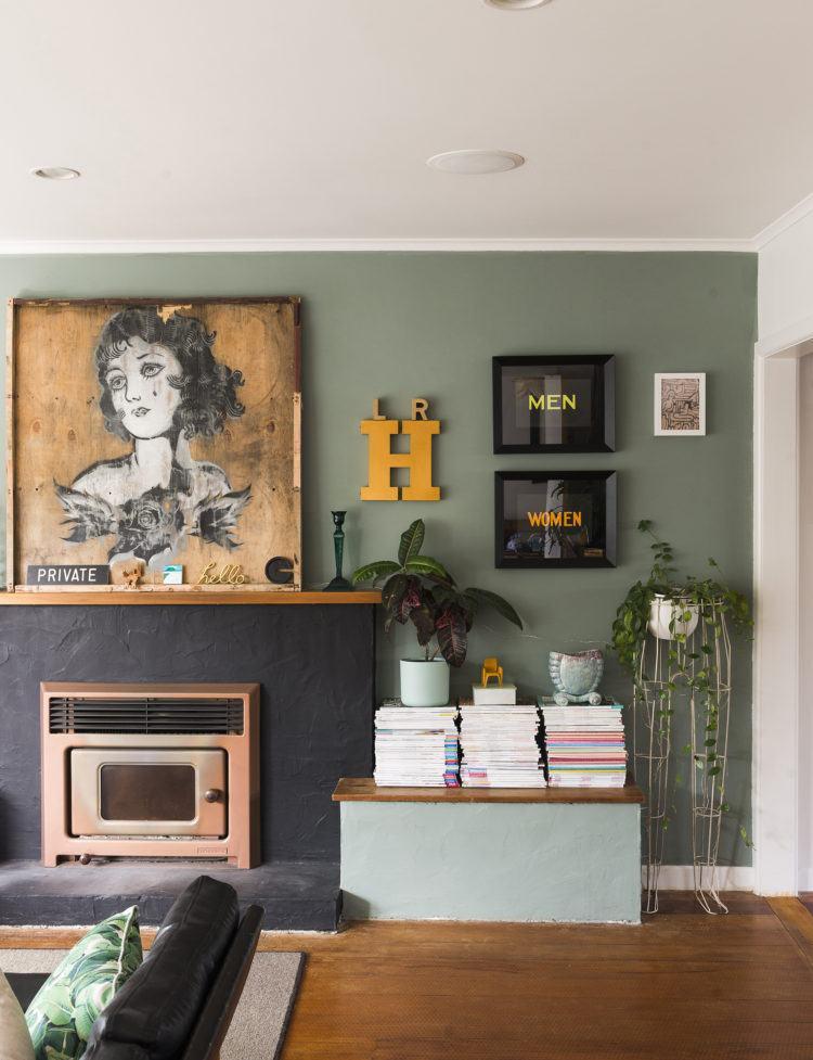 pared-verde-disenar-casa