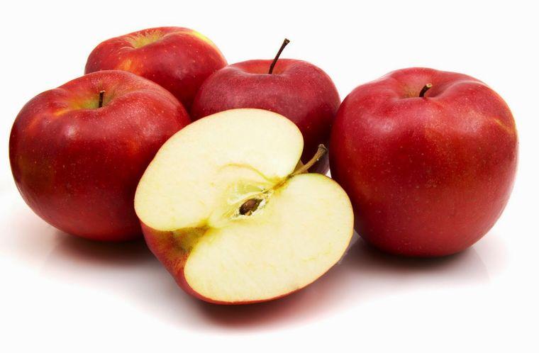 propiedades de la manzana fibra