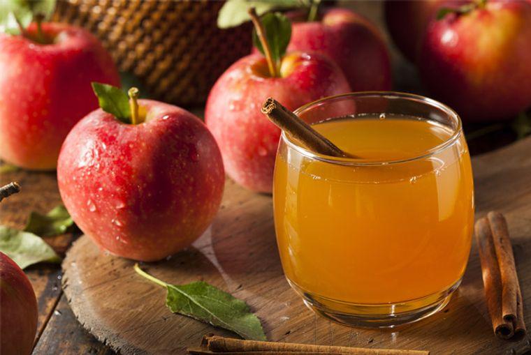 propiedades de la manzana jugo