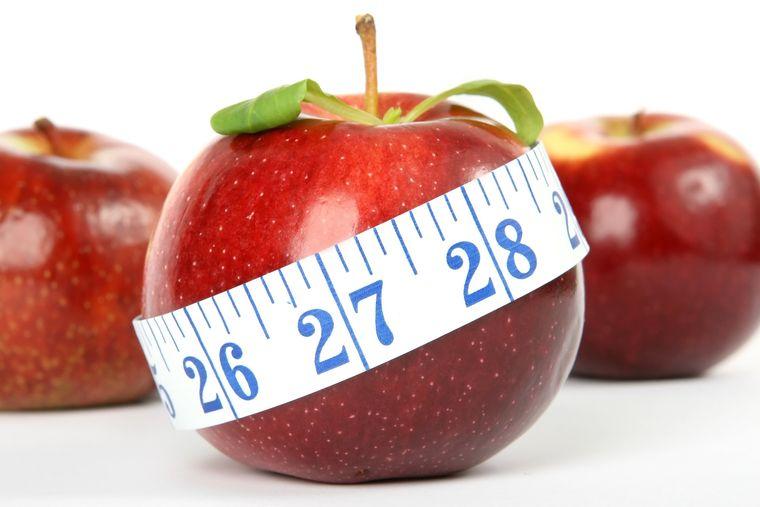 propiedades de la manzana peso