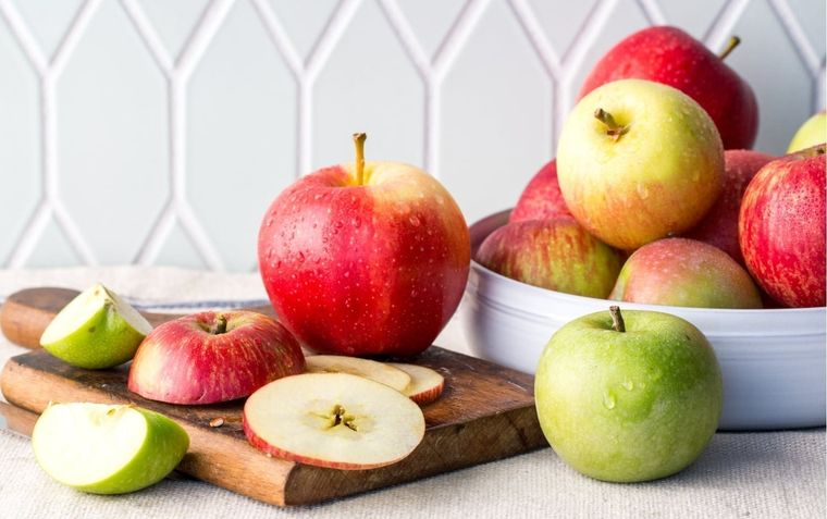 propiedades de la manzana rojas verdes