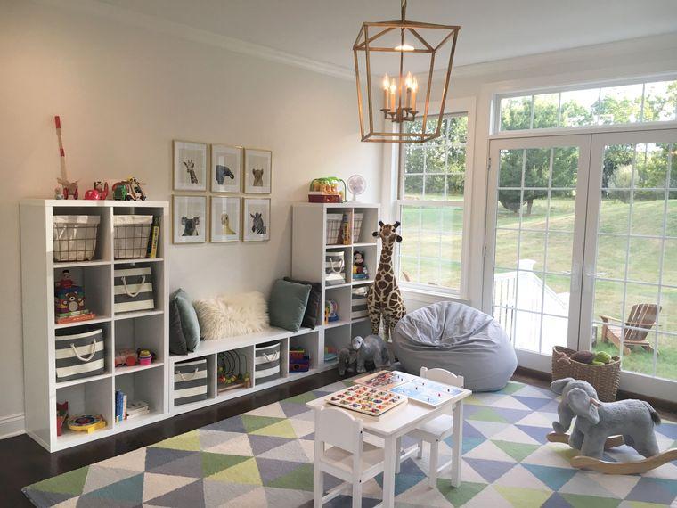 Sala de  juegos para niños – Hermosas ideas para crear magia y diversión en casa