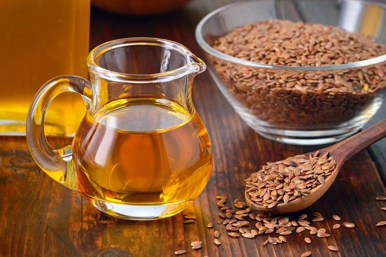 semillas de linaza aceite