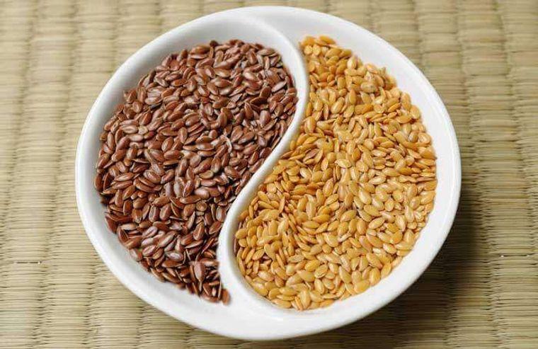 semillas de linaza alimento