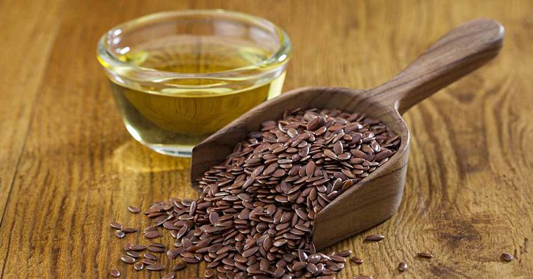 semillas de linaza antioxidante