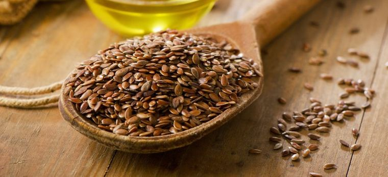 semillas de linaza baja carbohidrato