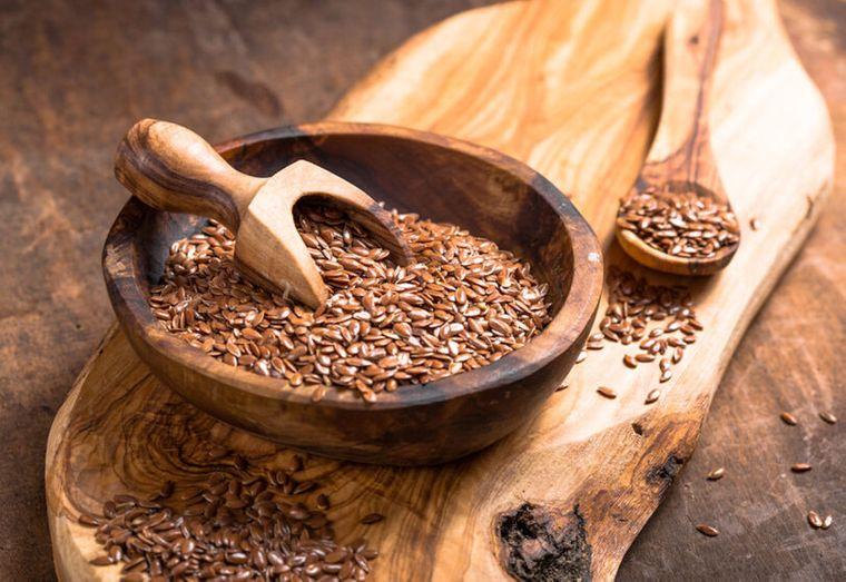 semillas de linaza comun