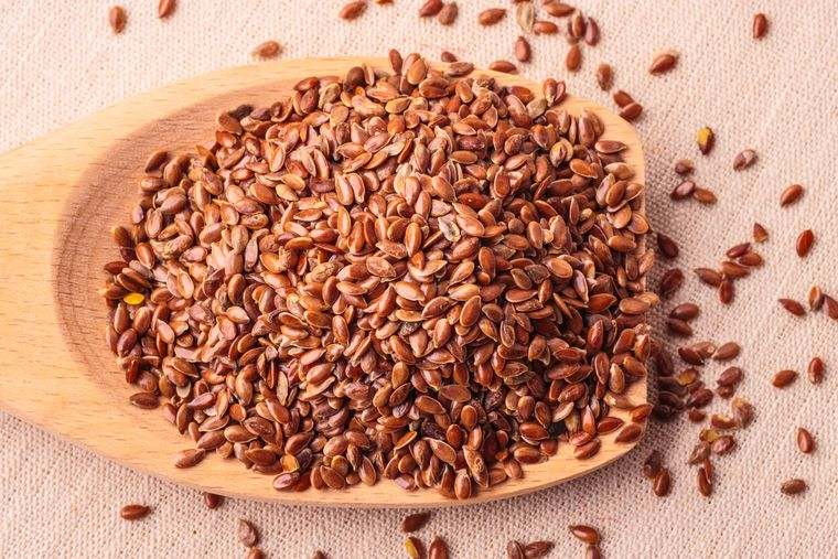 semillas de linaza dosis moderada