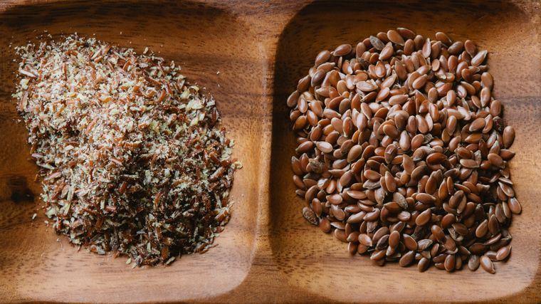 semillas de linaza fuente nutricion