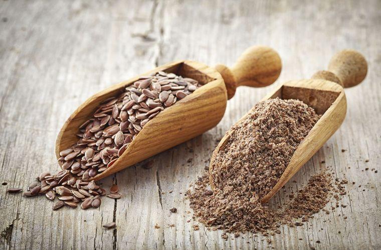 semillas de linaza nutritivo