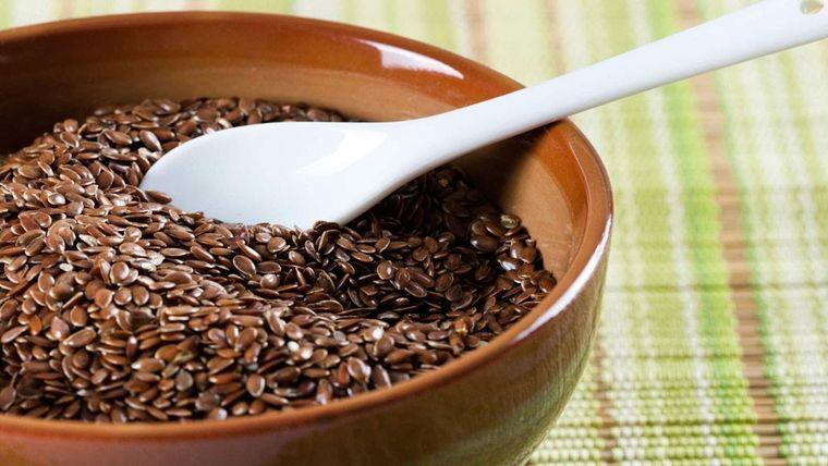 semillas de linaza suprime hambre