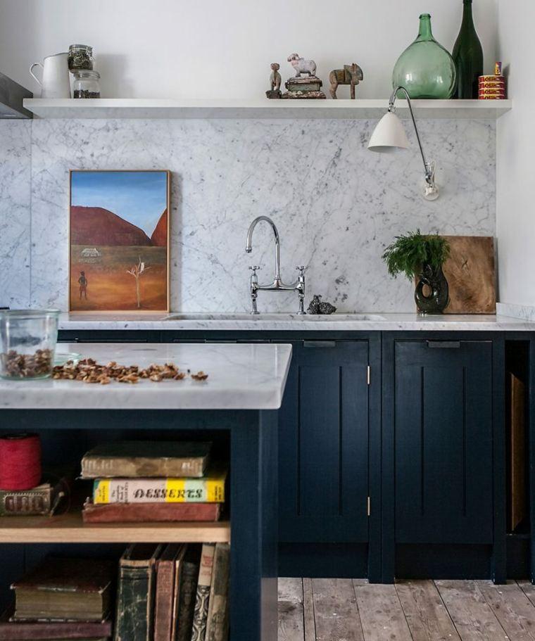 Diseños de cocinas de dos tonos