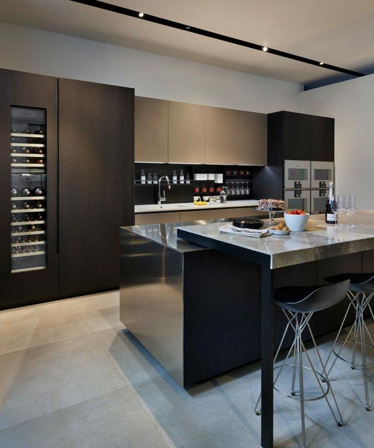 Diseños de cocinas inteligentes