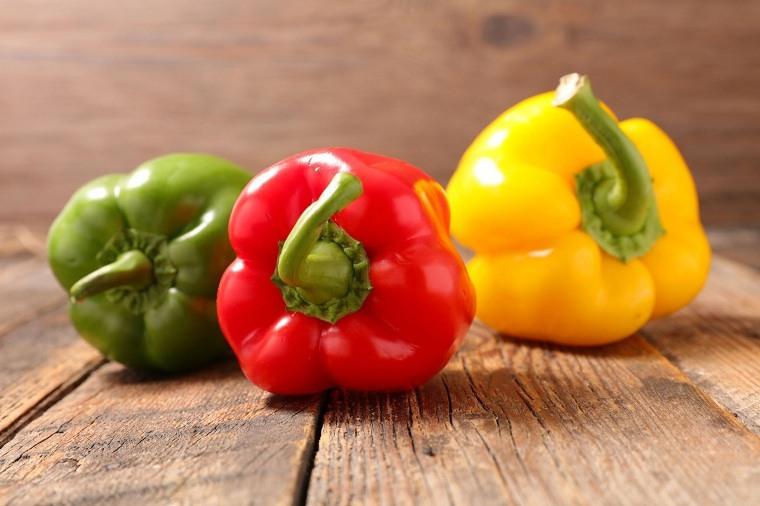vida saludable-comer-pimientos-rojos