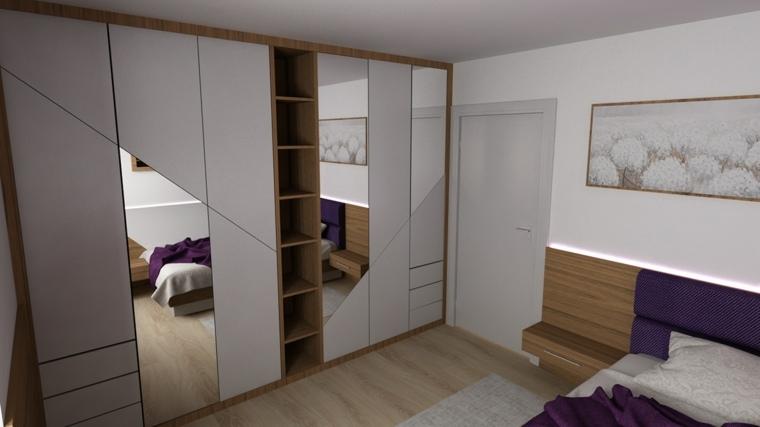 armario de dormitorio estilo-ideas