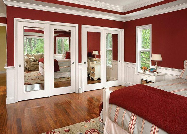 armario-de-dormitorio-paredes-color-rojo