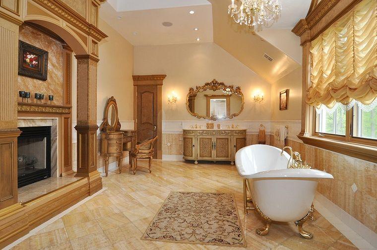 baños de lujo amplio
