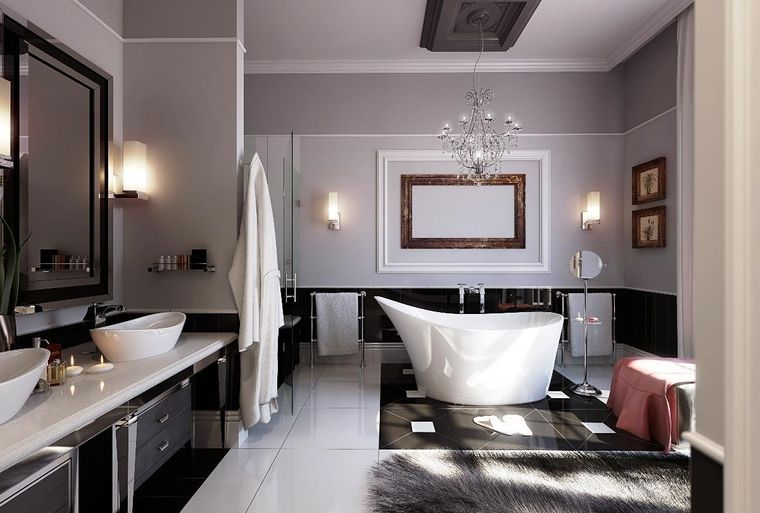 baños de lujo bañera