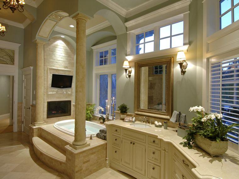 baños de lujo columnas