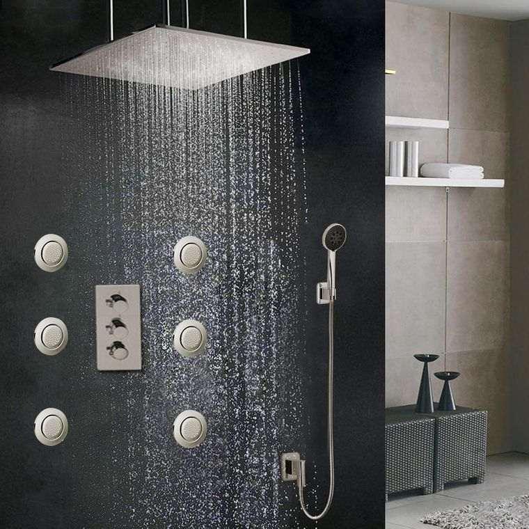 baños de lujo ducha
