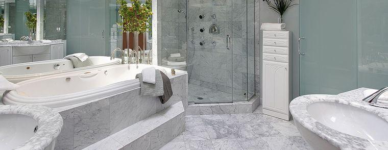 baños de lujo marmol