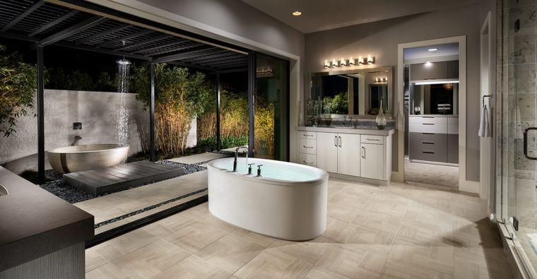 baños de lujo minimalista