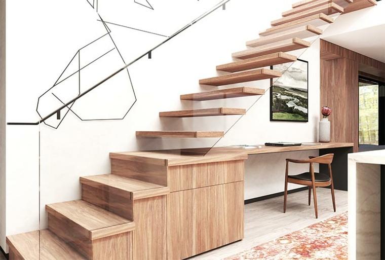 bajo-escalera-oficina-madera-moderno