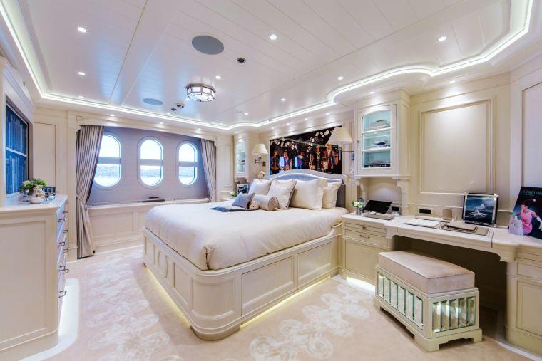 barcos de lujo-dormitorio