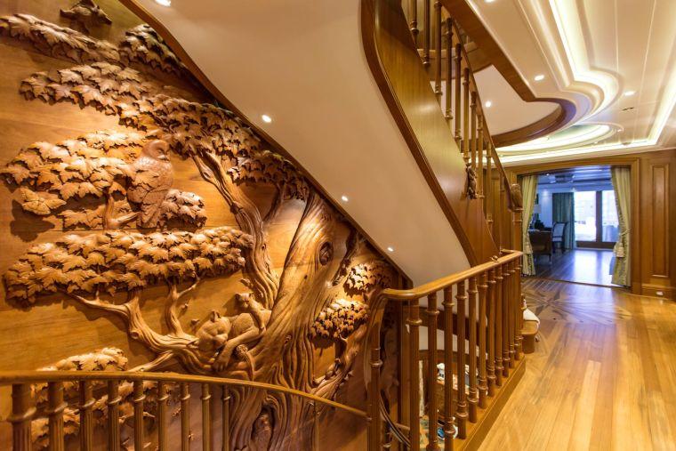barcos de lujo madera-sea-owl