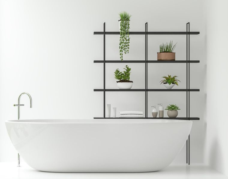 bellas-plantas-bano-minimalista