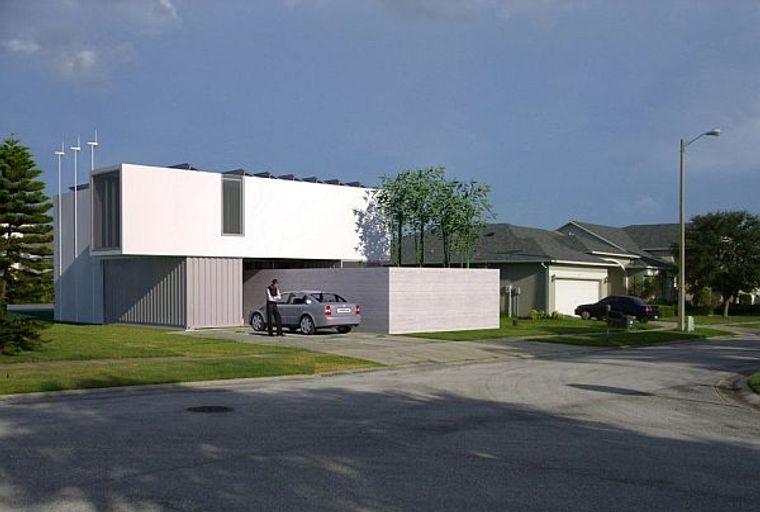 casas de contenedores arquitecturas