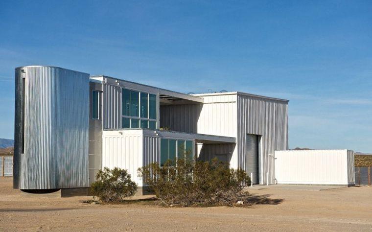 casas de contenedores desierto