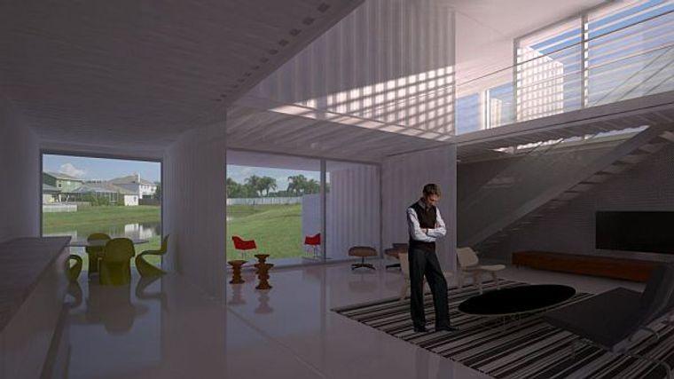 casas de contenedores diseño arquitectonico