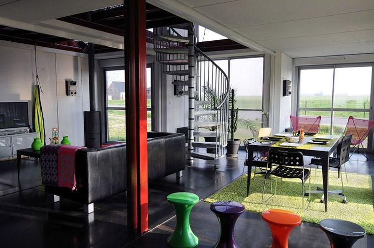 casas de contenedores maison salon
