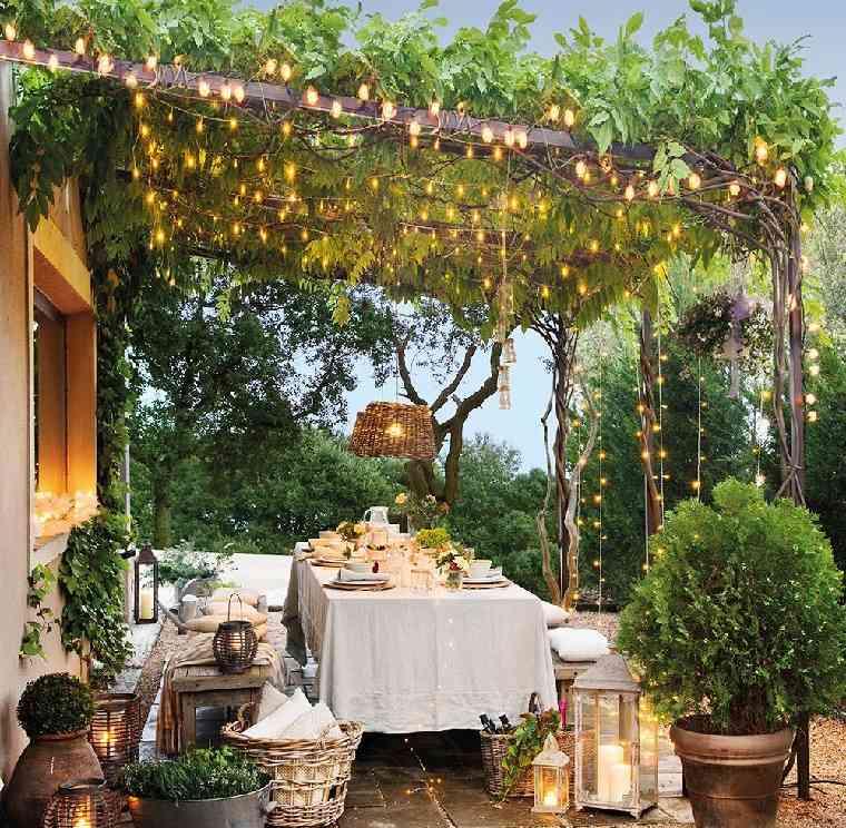 cenadores de jardín-ideas