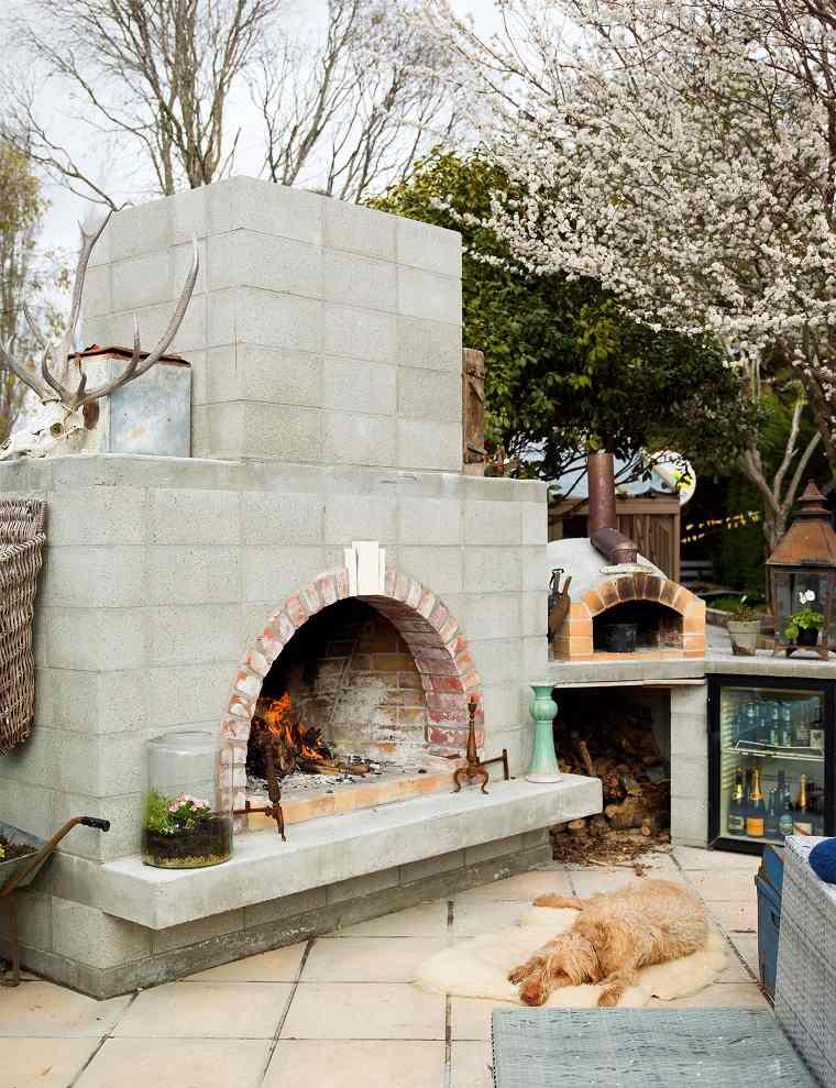 cocina exterior-ideas-chimenea