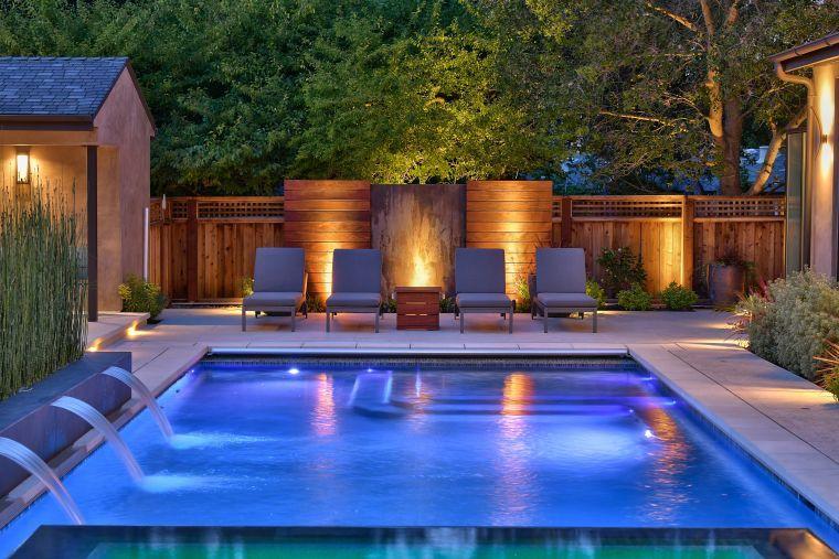 How to heat pool water-lighting