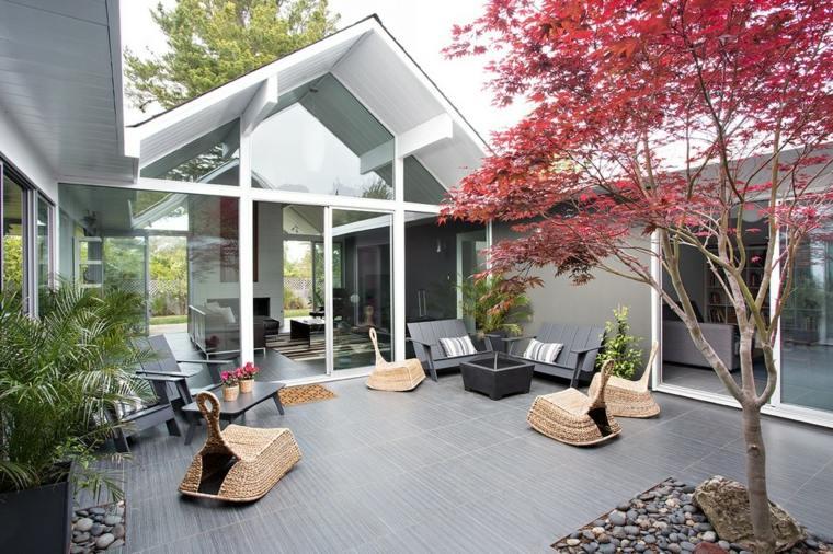 diseño de interiores abiertos