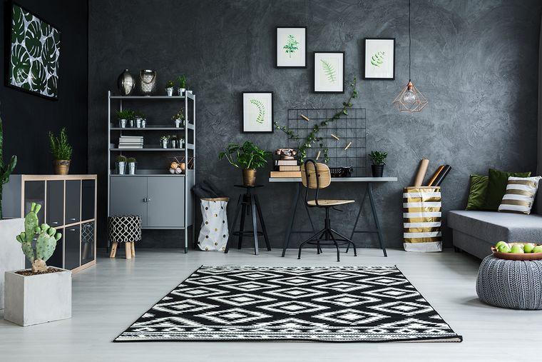 diseño de interiores decoracion gris