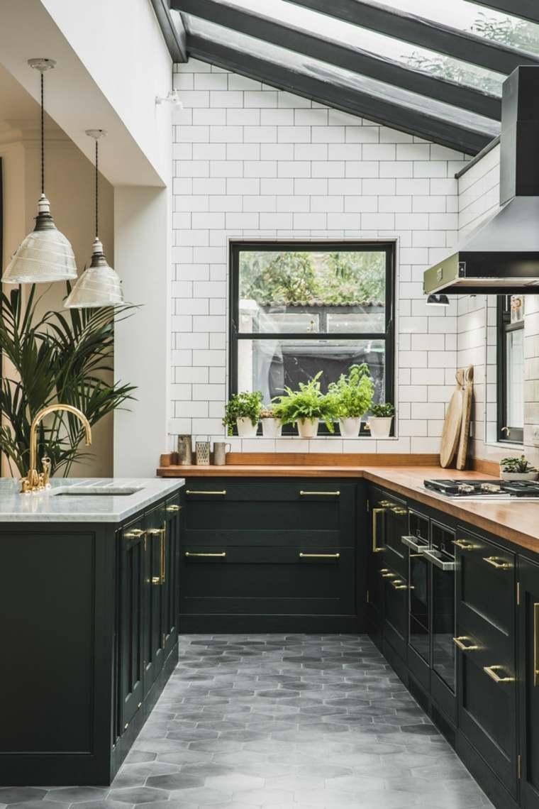 diseño de interiores piso cocina
